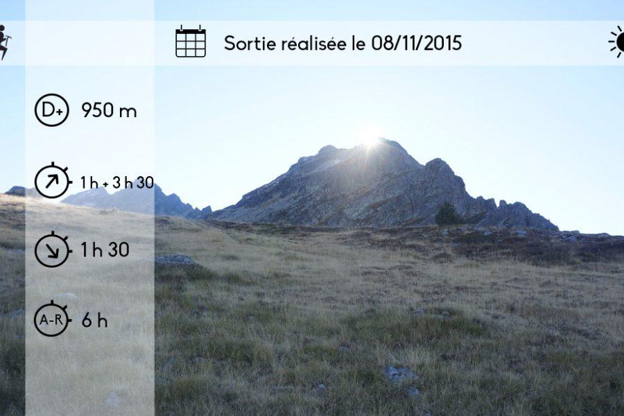 Arête Ouest (AD+) du Petit Rulhe (2620 m) depuis le pla de las Peyres