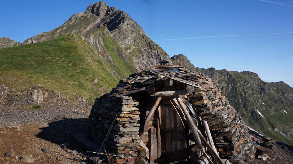 Cabane du port d'Urets