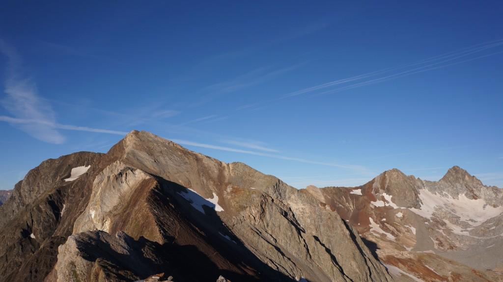 Pic de Campbieil vu depuis le pic d'Estaragne