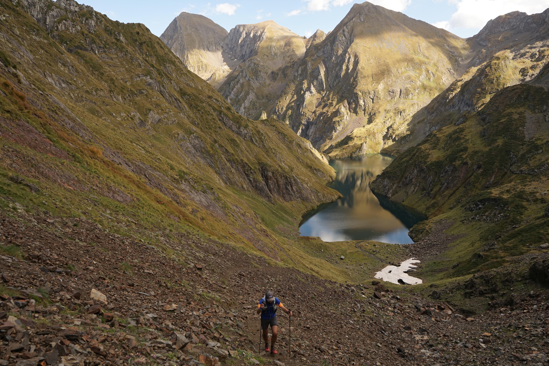 Pass'Aran (64 km) depuis le bocard d'Eylie