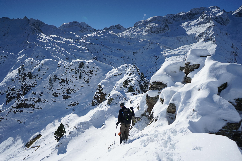 Mont du Lys (2234 m) depuis l'auberge du Lis