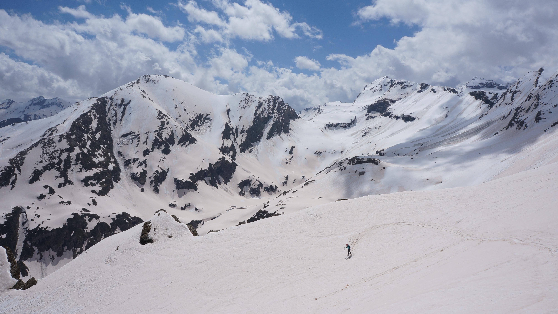 Lenquo de Capo (2716 m) depuis Piau-Engaly