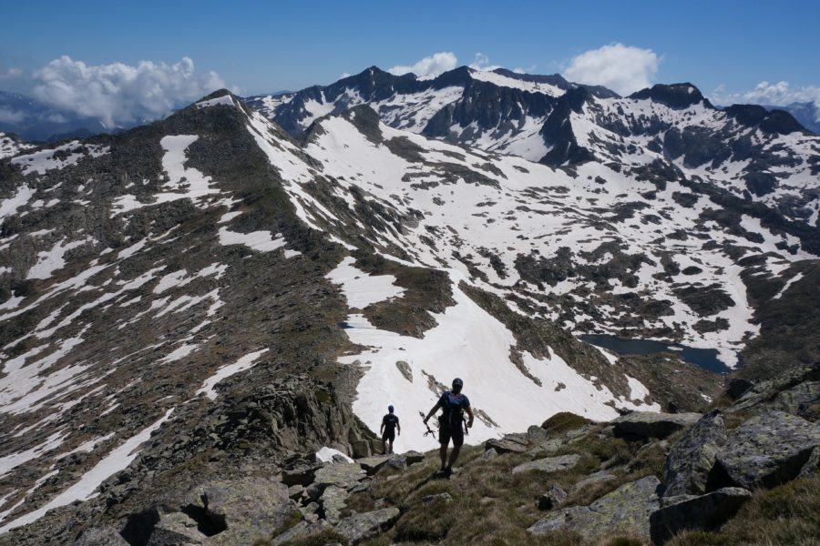 Pic de Couillac (2601 m) par le cirque de Cagateille
