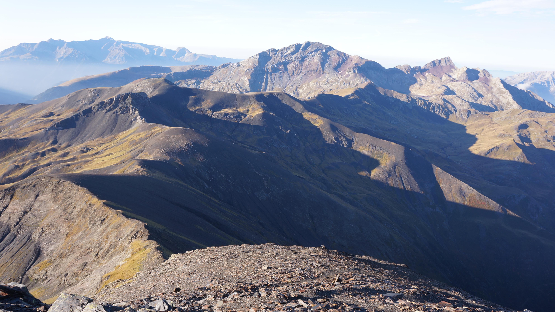 Pic de Batoua (3034 m) depuis l'Hospice de Rioumajou