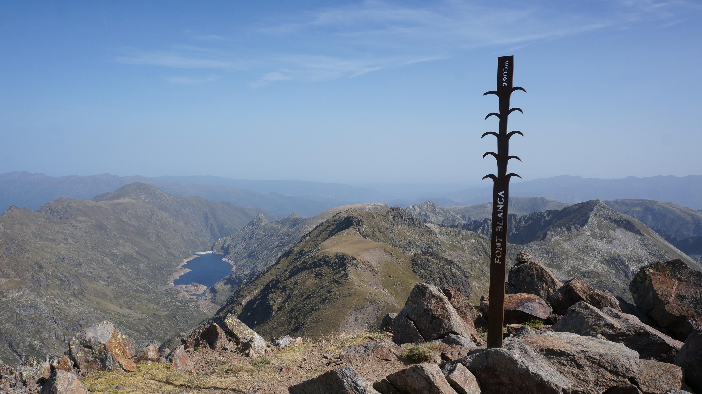 Pic de Font Blanca (2903 m) – Pic d'Arial (2681 m) depuis le Bouychet