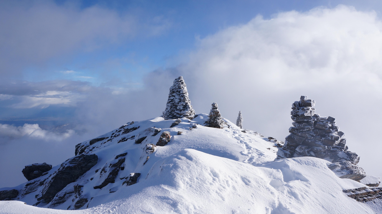L'Arbizon (2831 m) depuis les granges de Lurgues