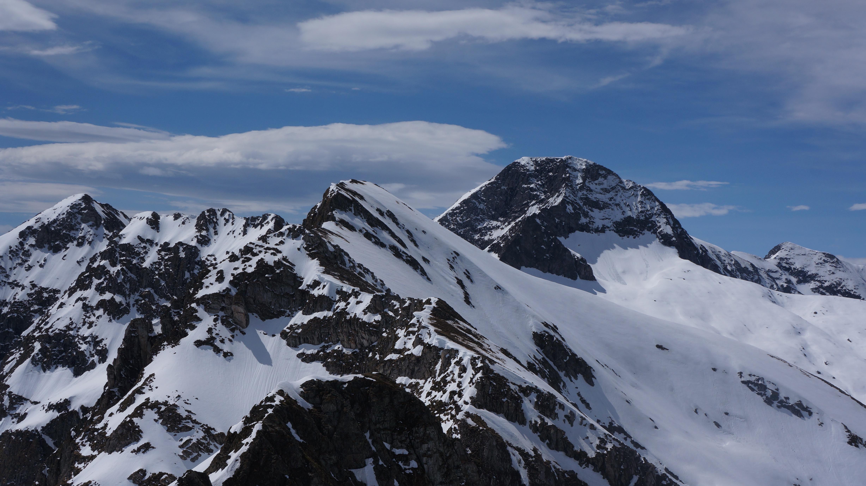 Tuc de Quer Ner (2389 m) – Tuc de la Messe (2446 m) depuis le col de la Core