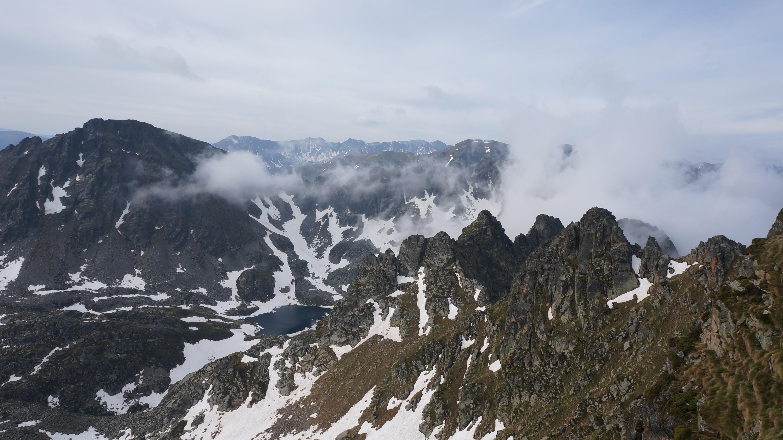 Pic de Rulhe (2782 m) depuis le pla de las Peyres