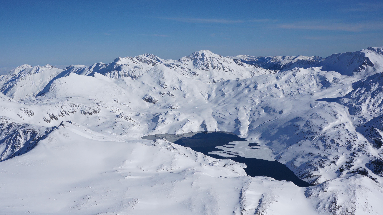 Puig de la Coma d'Or (2826 m) depuis le col de Puymorens