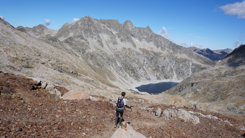 Pic Maubic (3058 m) – Pic Badet (3160 m) – Pic Maou (3074 m) depuis Cap de Long