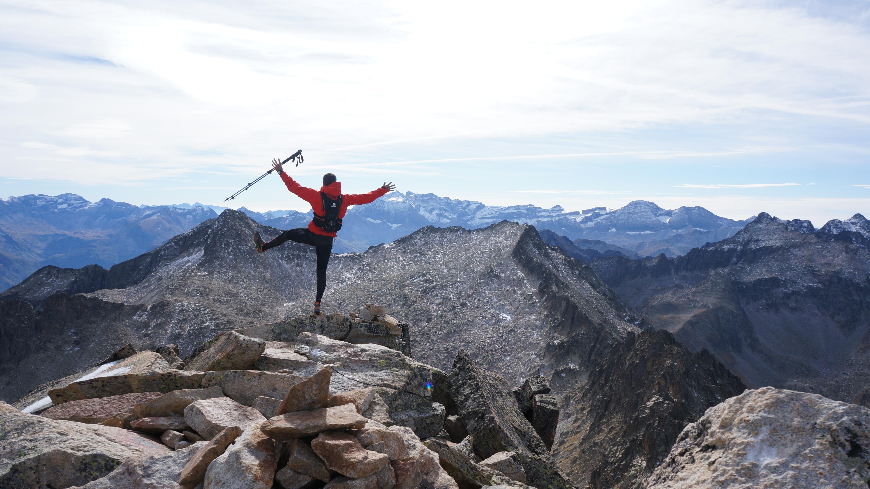 Pic d'Ardiden (2988 m) depuis la Fruitière