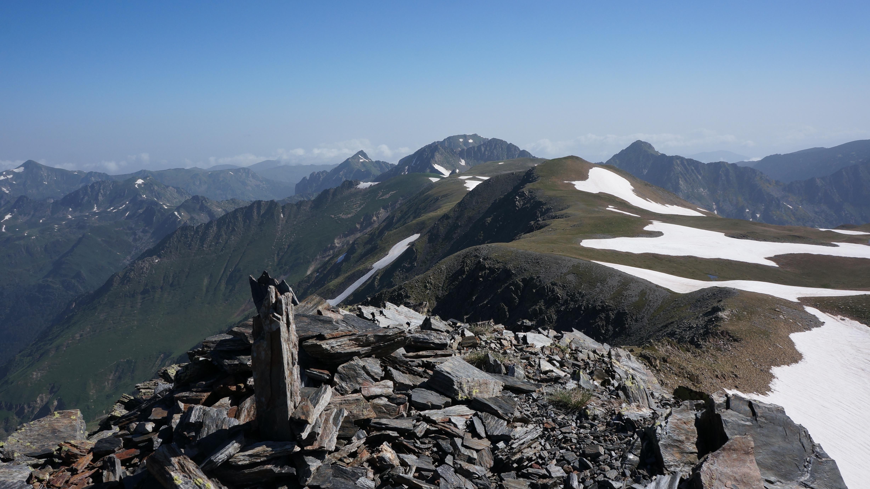 Du puig de la Terrers (2540m) au puig de la Grava (2671m) depuis le Fanguil