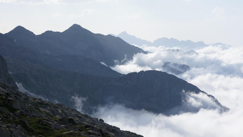 Crête frontière du Couserans : du port de l'Artigue au Mont Rouch