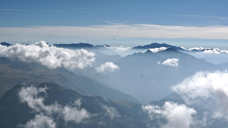 Punta de las Olas (3003 m) – Soum de Ramond (3254 m) – Pics Baudrimont (3026 m – 3045 m) depuis Pineta