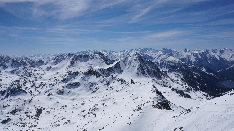 Pic des Quatre Termes (2724 m) depuis la Mongie
