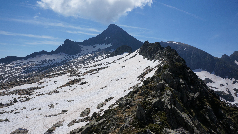 Pic de Trémul (2350 m) – Cap de Pouech (2483) depuis le pla de la Lau