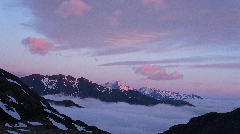 Pic de Séron (2489 m) – Pic de Gérac (2362 m) – Dent de Mède (2352 m) depuis le cirque de Gérac