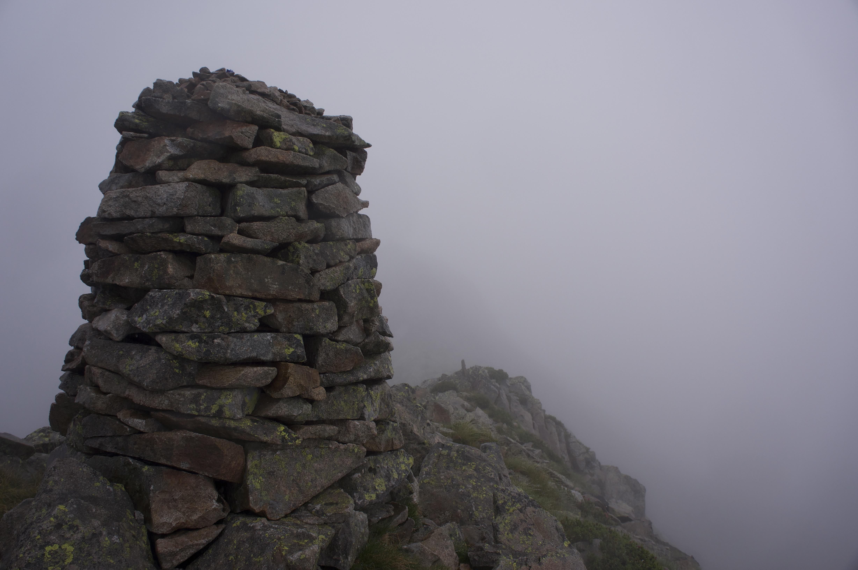 Pic de la Croix des Lauzes (2349 m) – Pic de Turguila (2527 m) depuis le cirque de Gérac