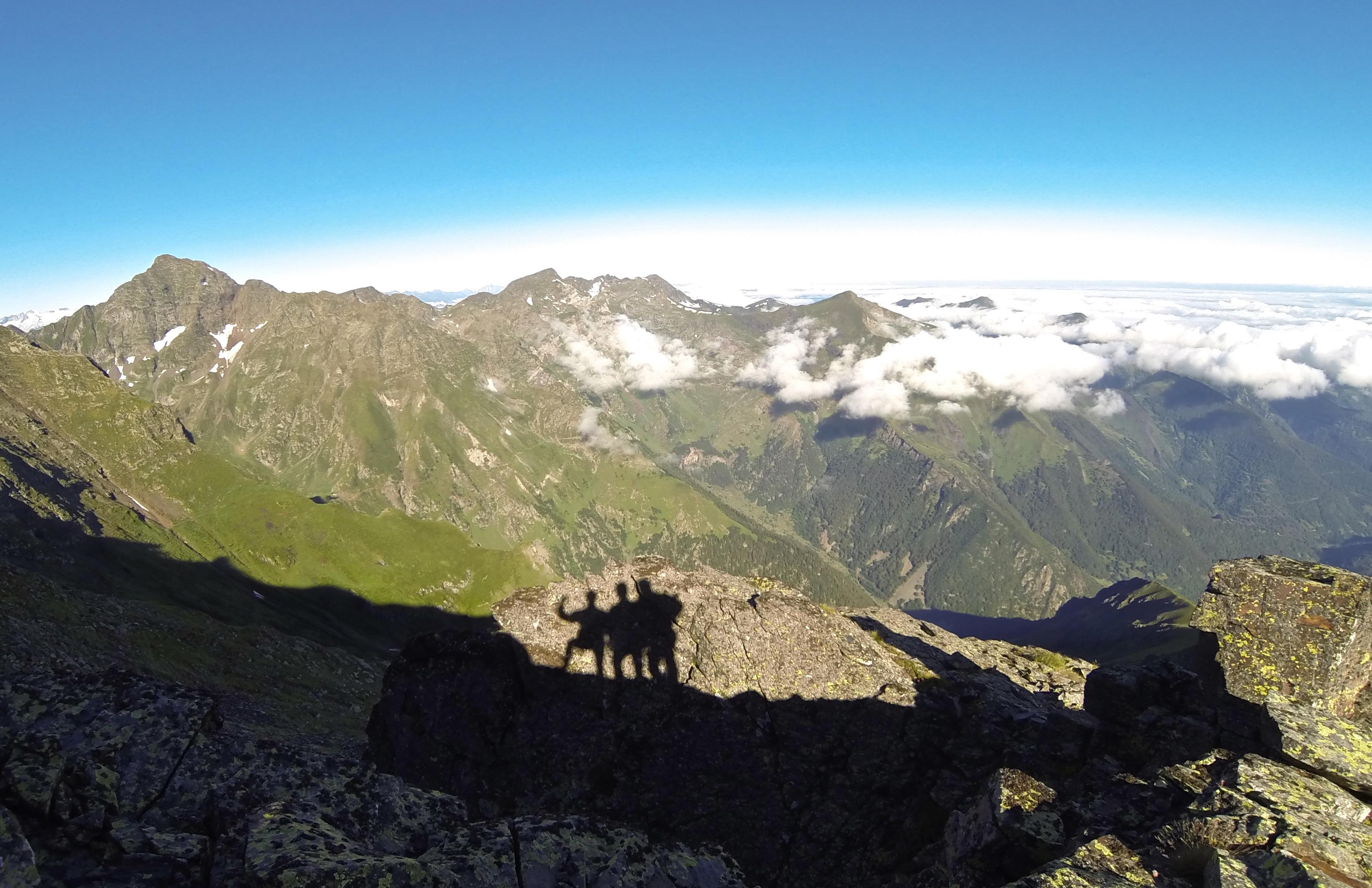 Mail de Bulard (2750 m) par la piste de l'Arech
