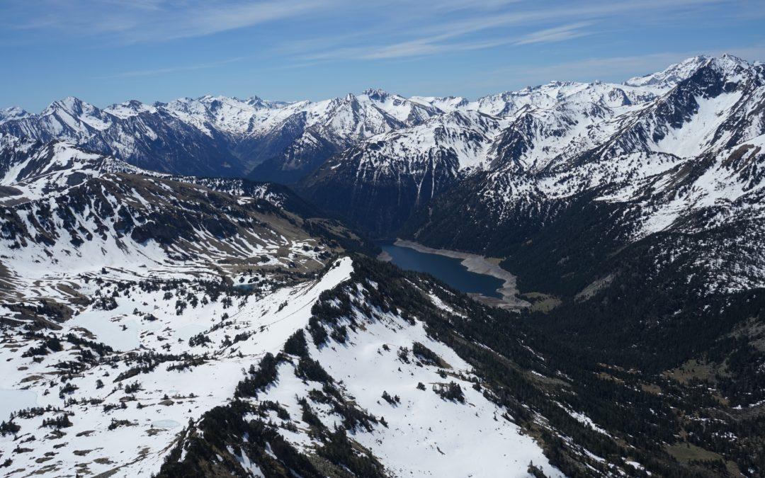Pic de Bastan d'Aulon (2721 m) – Portarras (2697 m) – Pic de Bastan (2715 m) depuis Artigusse