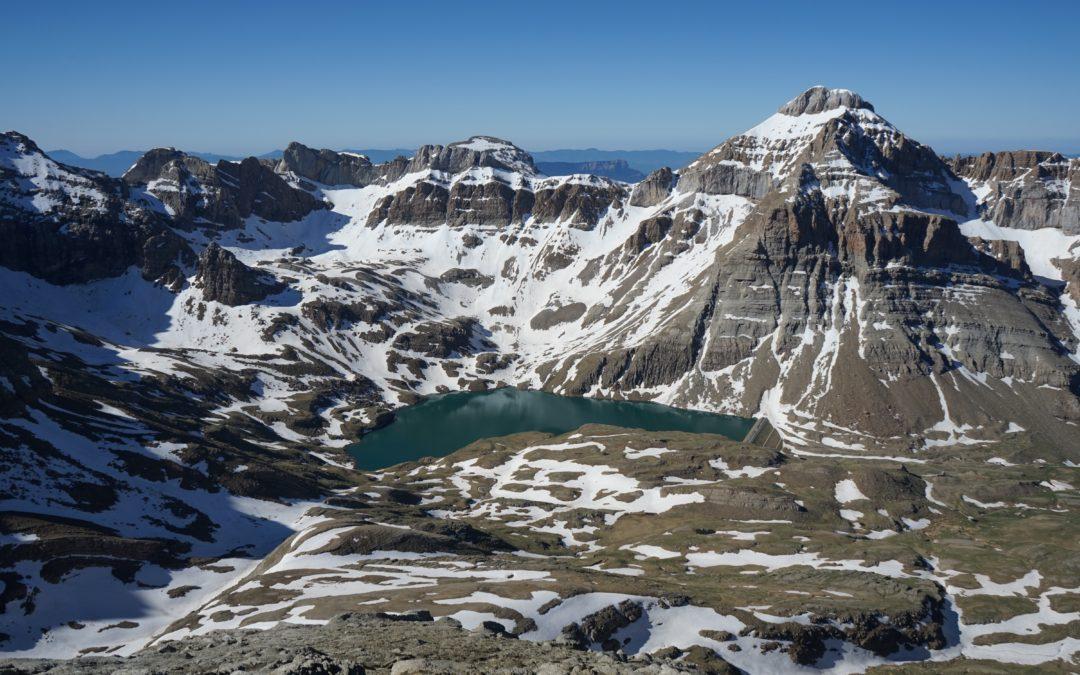 Pala de Ip (2783 m) par la Moleta (2573 m) depuis Canfranc Estacion