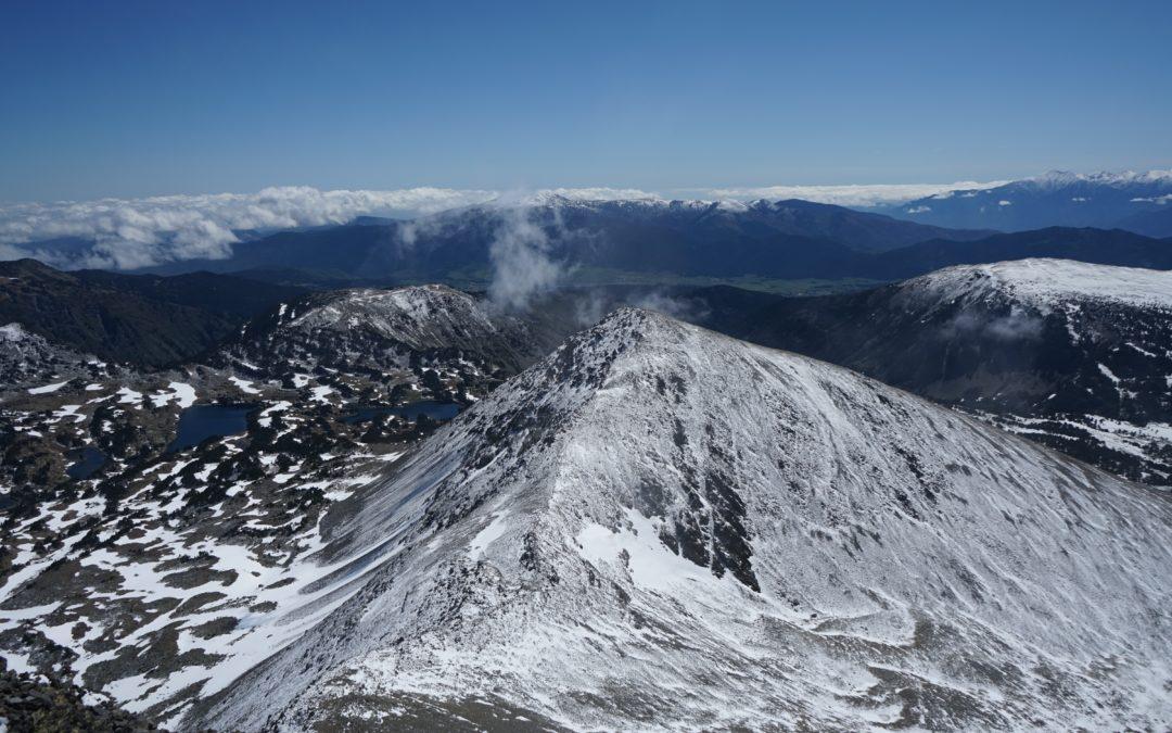 Puig Peric (2810 m) et Petit Peric (2690 m) depuis le Fanguil