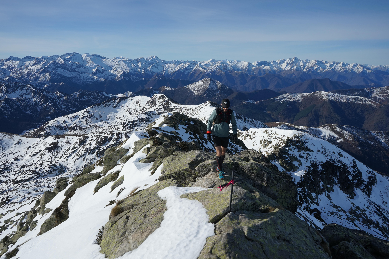 Pic de Peyroutet (2165 m) – Pic des Trois Seigneurs (2199 m) – Pic de la Journalade (1945 m) – Cap de la Dosse (1948m) depuis le Pla de Ressec