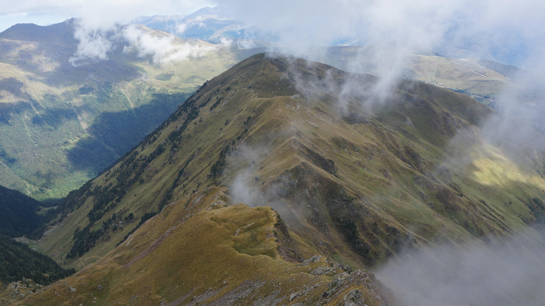 Pic de Sacroux (2676 m) depuis l'auberge du Lis