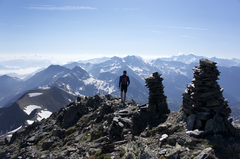 Mont Rouch (2868 m) depuis Salau