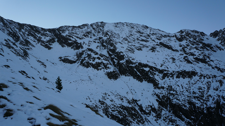 Pique d'Endron (2472 m) par le Créneau d'Endron depuis Goulier-Endron