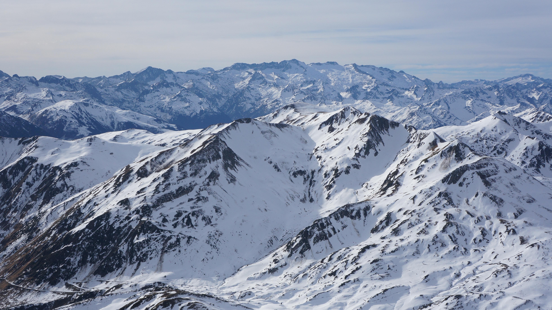 Tuc de Parros (2732 m) depuis le pla de Beret