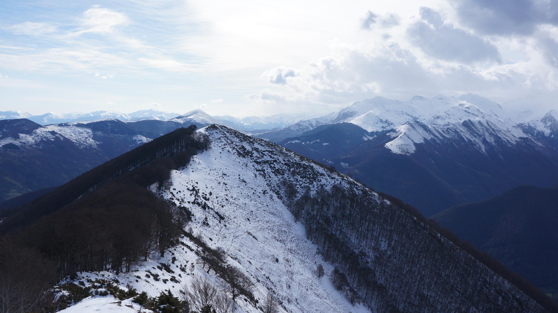 Pic de l'Arraing (1674 m) – Pic de Sérau (1720 m) depuis Balacet