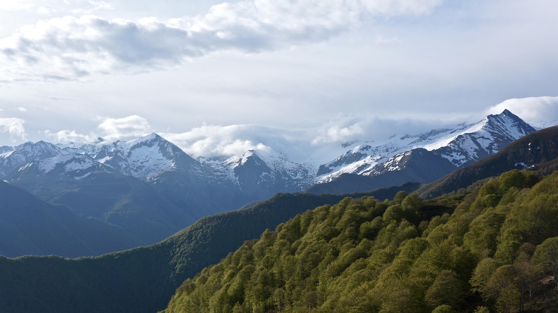 Pic de Soubirou (2277 m) depuis Rouzé-d'en-Bas