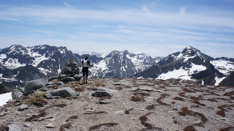 Pic des Redouneilles (2484 m) depuis le Bouychet